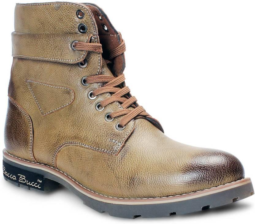 ff21c32f01e Bacca Bucci Boots For Men - Buy Tan Color Bacca Bucci Boots For Men ...