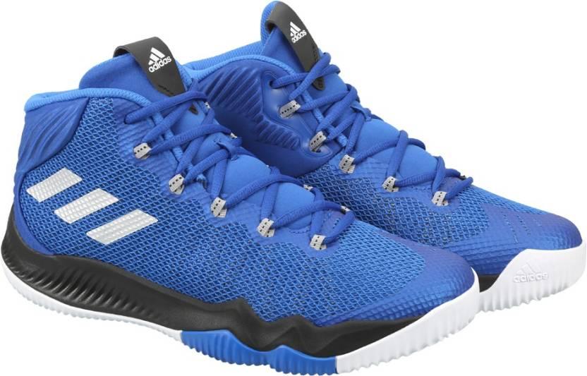 c73c156a969 ADIDAS CRAZY HUSTLE Basketball Shoes For Men - Buy CROYAL SILVMT ...