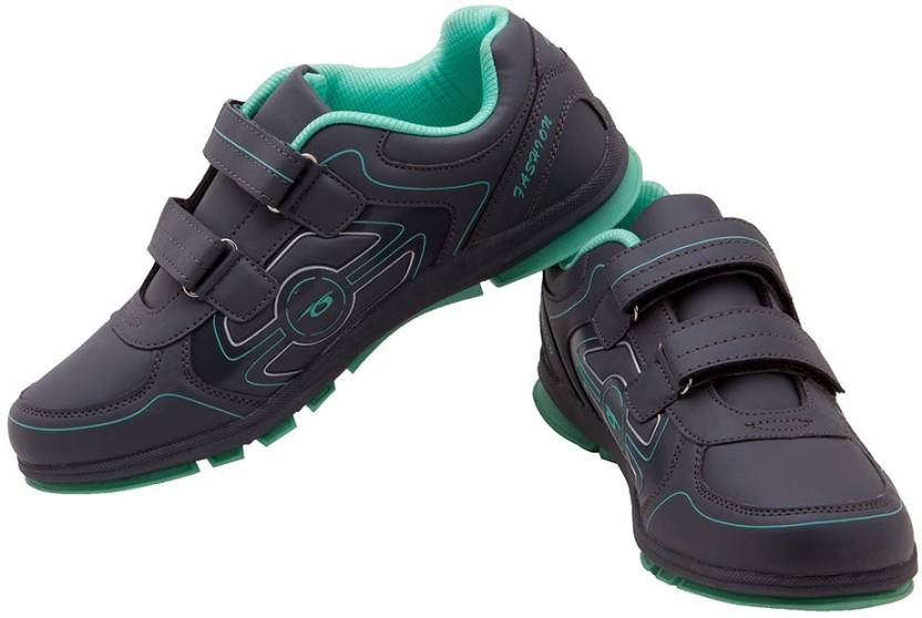 Prozone Women Light Weight Grey Green Sports Running Shoes For Women (Grey e50fe119d2