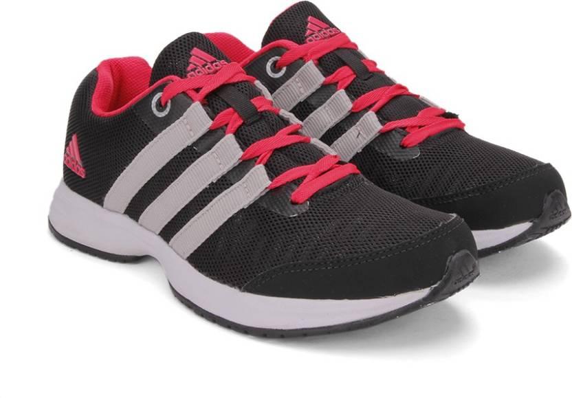 adidas ezar w scarpe da corsa per le donne acquistano cblack / silvmt / puntellata