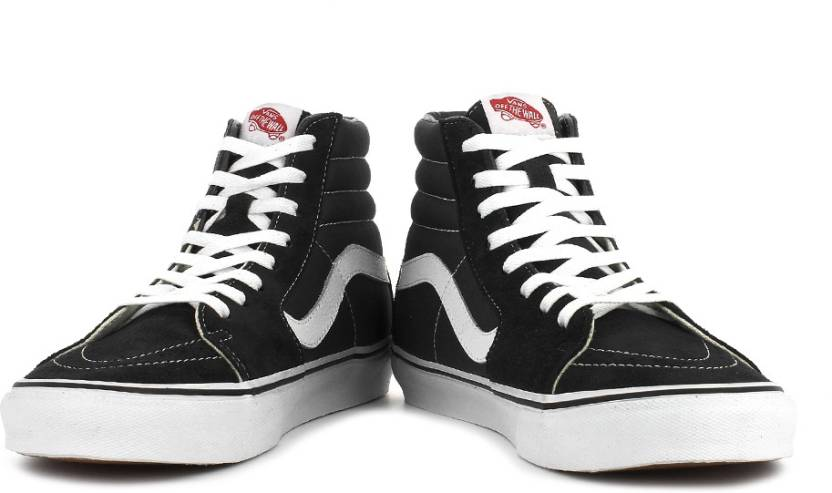 16dc043563 Vans Sk8-Hi High Ankle Sneakers For Men - Buy Black Color Vans Sk8 ...