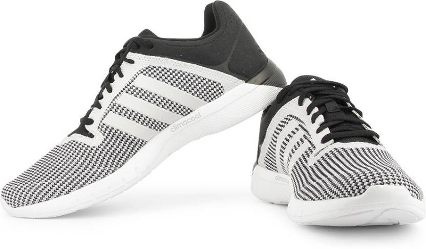 new style a1262 d3c69 ADIDAS Cc Fresh 2 M Running Shoes For Men (White, Black)