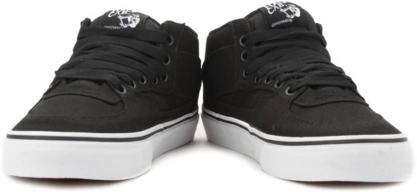 7b2b880dfae939 Vans Half Cab Sneakers For Men - Buy (14 Oz Canvas) Black Color Vans ...