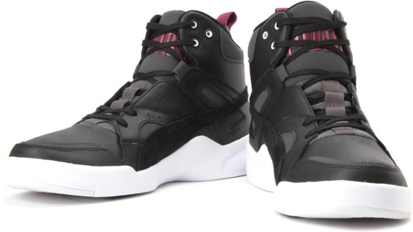 new styles fa8c9 20fd3 Puma Future Slipstream Lite 2 Ltr High Ankle Sneakers For Men (Purple, Black )
