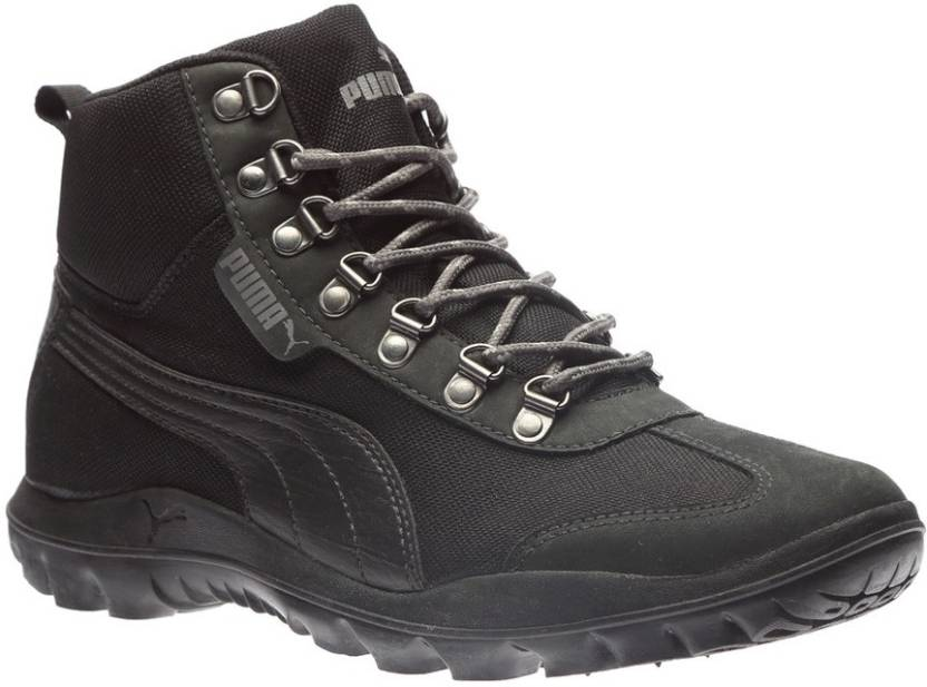 Puma Tatau Fur Boot 2 IDP Boots For Men - Buy Puma Black-Asphalt ... ac734e700