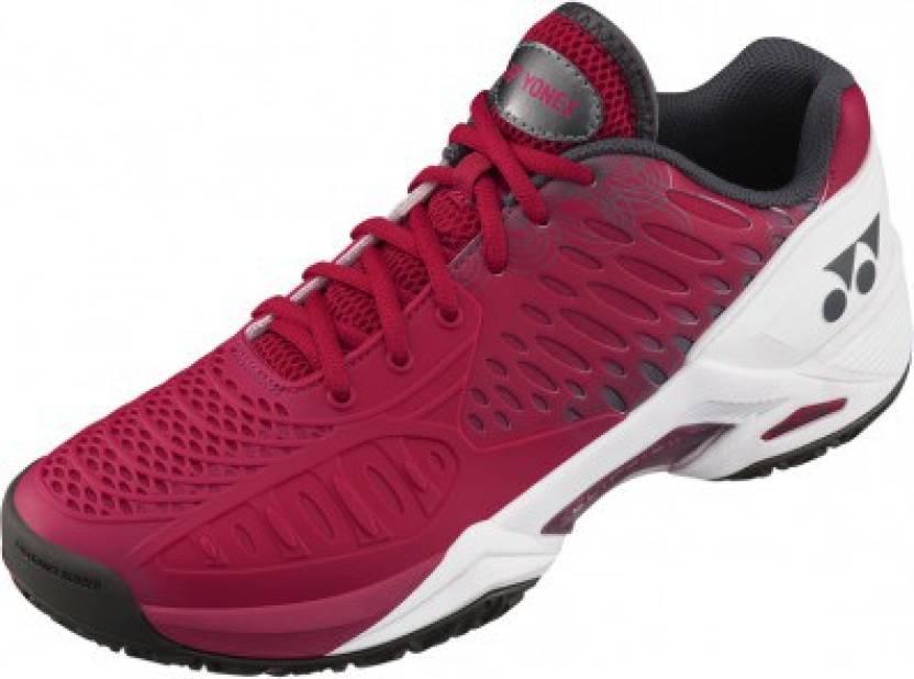 5831ffd455e Yonex SHT Eclipsion Tennis Shoes For Men - Buy Dark Pink Color Yonex ...
