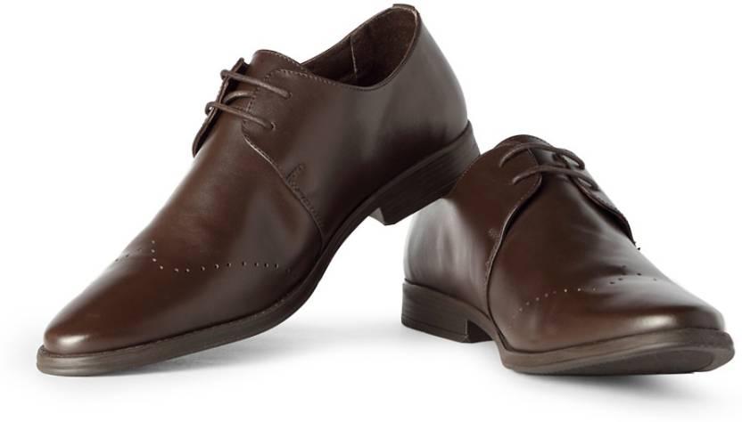 Van Heusen Lace Up Shoes For Men - Buy Brown Color Van Heusen Lace ... dead7d5a0