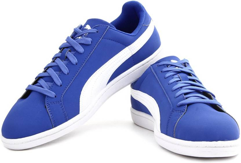 08389434f787 Puma Puma Smash Buck Sneakers For Men - Buy strong blue-white Color ...