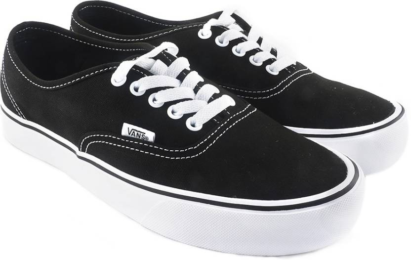ceb07426e37c Vans Authentic Lite Sneakers For Men - Buy Black Color Vans ...