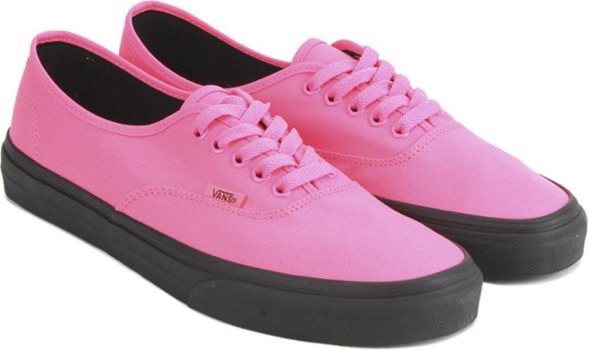 0096b460bc Vans Authentic Sneakers For Men - Buy (Black Outsole) neon pink ...