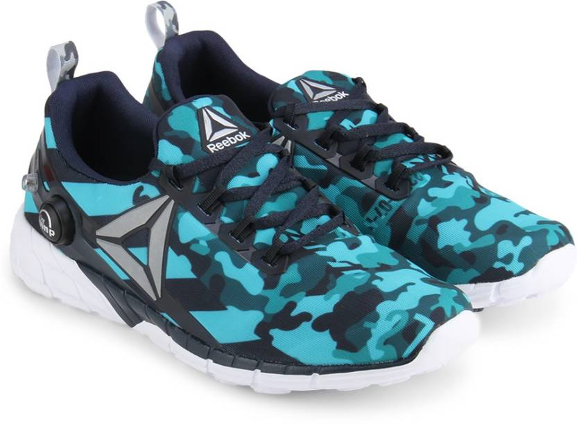 e9343a93086f REEBOK ZPUMP FUSION 2.5 STRIPES Running Shoes For Women - Buy TEAL ...