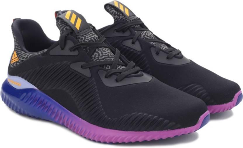 27628d8e2 ADIDAS ALPHABOUNCE M Running Shoes For Men - Buy CBLACK SOGOLD ...