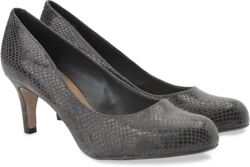 0326d5760 Clarks Arista Abe Dark Grey Syn Slip On shoes For Women - Buy Dark ...