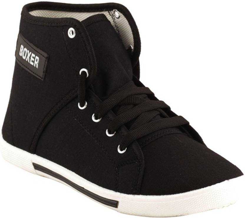 2a4af1d8c004e SCATCHITE Boxer-Bk Sneakers For Men - Buy Black Color SCATCHITE ...