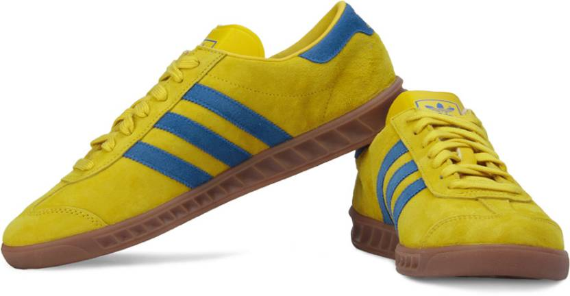 be249df44d6 ADIDAS ORIGINALS Hamburg Sneakers For Men - Buy Yellow Color ADIDAS ...