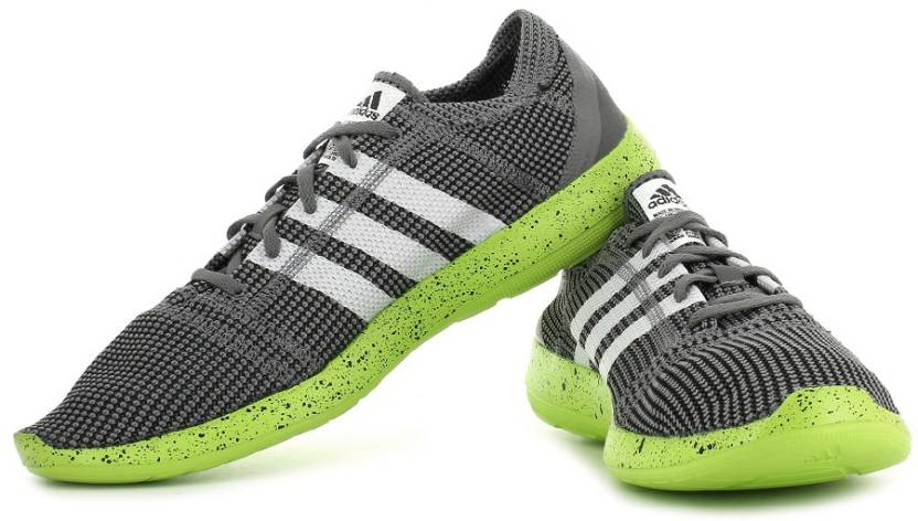 sports shoes 9f1b9 437ab ADIDAS Element Refine Tricot M Running Shoes For Men (Grey)