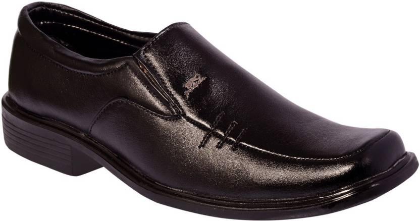 5acf7fe3510 kashish Products Slip On For Men - Buy BLACK Color kashish Products ...