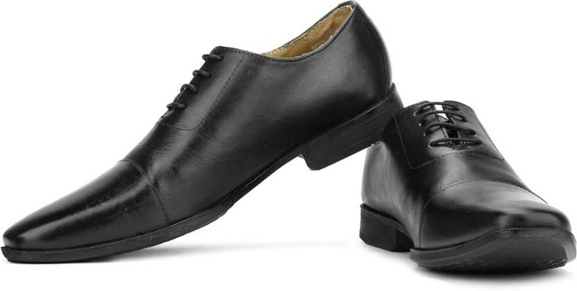 Van Heusen Lace Up Shoes For Men - Buy Black Color Van Heusen Lace ... 818c515fc