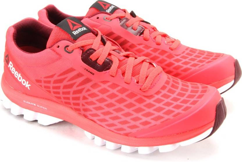 55ad8c963727 REEBOK SUBLITE SUPER DUO Running Shoes For Women - Buy Red Color ...