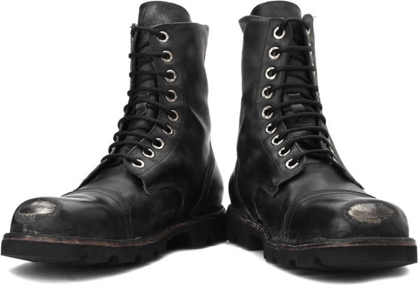 c97b728095c Diesel Hardkor Steel Boots For Men