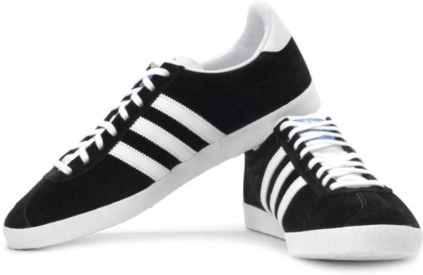 ADIDAS ORIGINALS Gazelle Og Sneakers For Men - Buy Black Color ... c54447f33