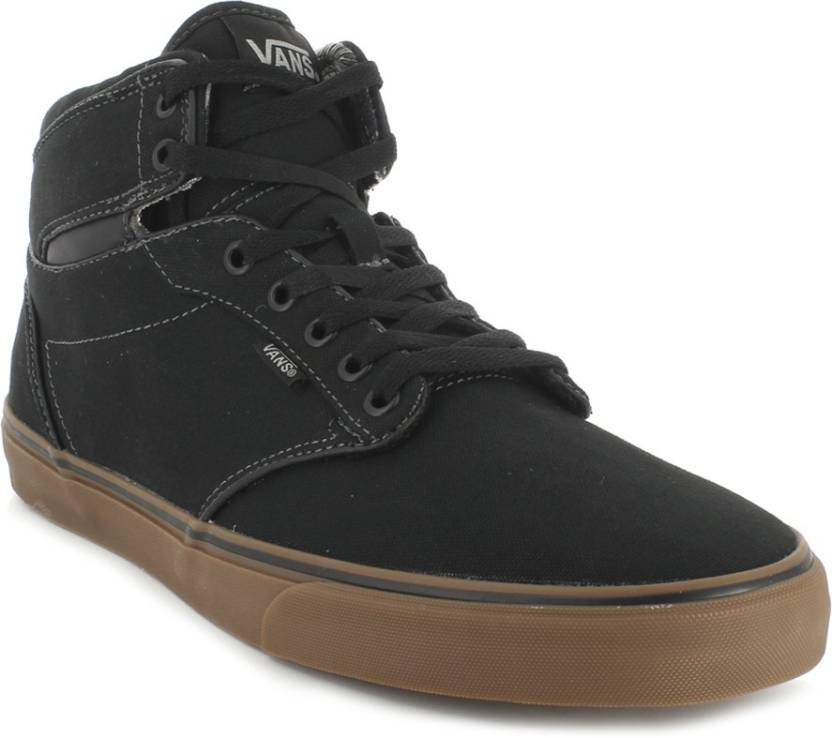 e812c52864 Vans Atwood Hi High Ankle Sneakers For Men - Buy (Canvas) Black