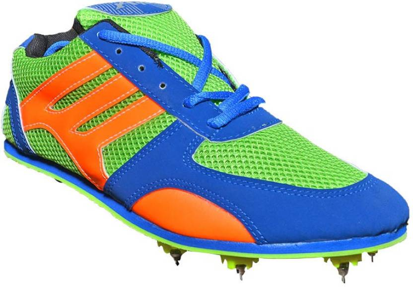 42dd7507bda1 Port Dplug-Spike Running Shoes For Men - Buy Green Color Port Dplug-Spike  Running Shoes For Men Online at Best Price - Shop Online for Footwears in  India ...