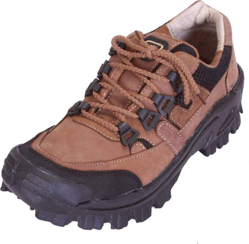 3e1fa750da51 Shoebook Mens Leather Brown Outdoor Shoes Outdoors For Men - Buy ...