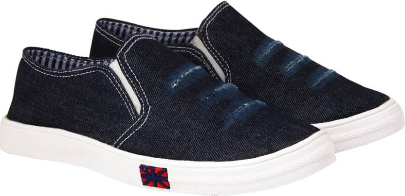 ABJ Fashion Stylish Denim Sneakers