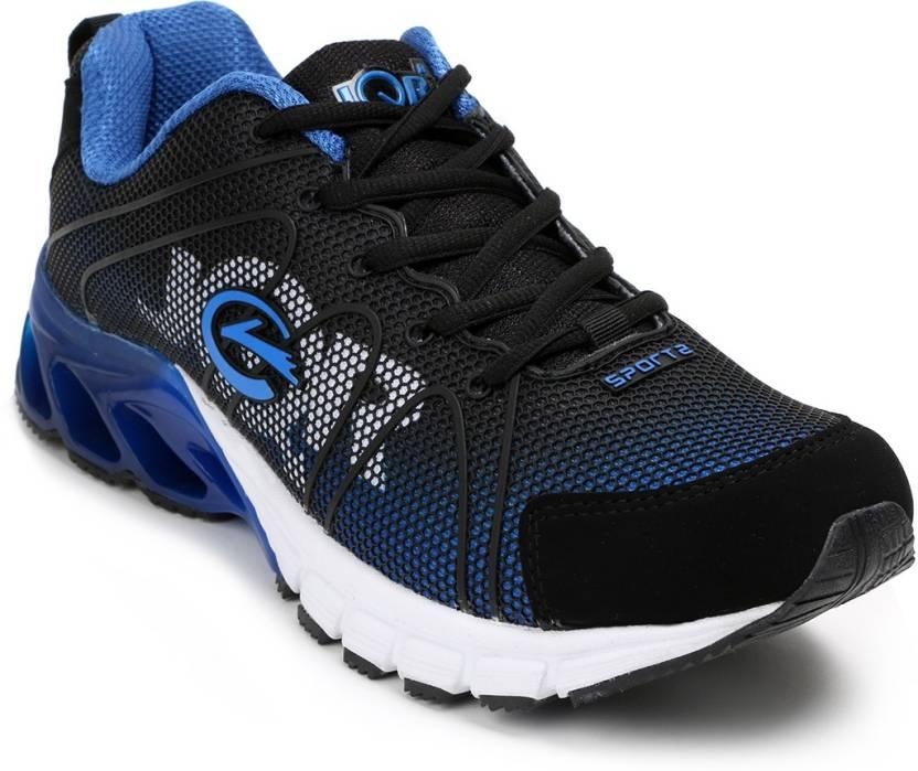 dfa82430c61ba JQR Target Running Shoes For Men - Buy Blue-Black Color JQR Target ...