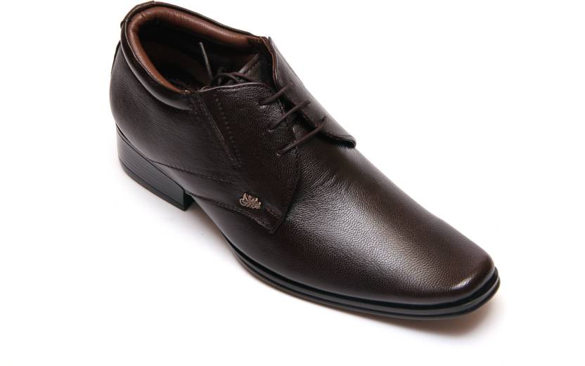 367ceee8dc31 Allen Cooper AC505-BROWN Lace Up Shoes For Men - Buy Brown Color ...
