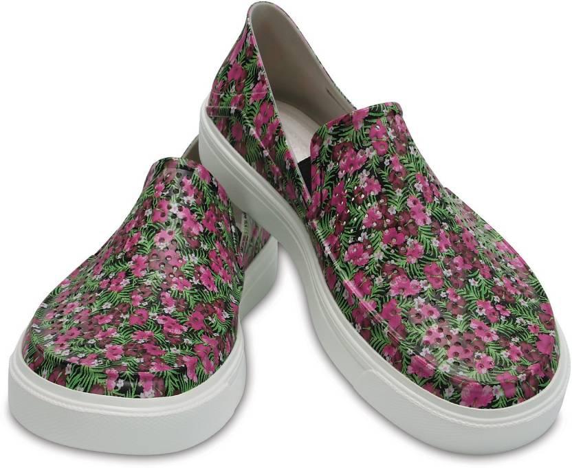 0526a0b48 Crocs CitiLane Roka Graphic Slip On Sneakers For Women - Buy 204623 ...