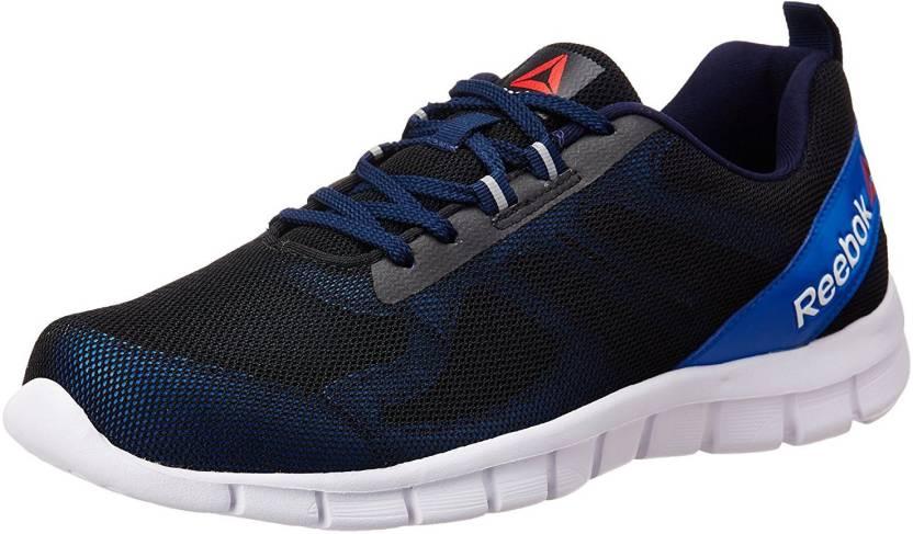 14f06e9f1a50 REEBOK SUPER LITE 2.0 Running Shoes For Men - Buy BLACK RIOT RED ...