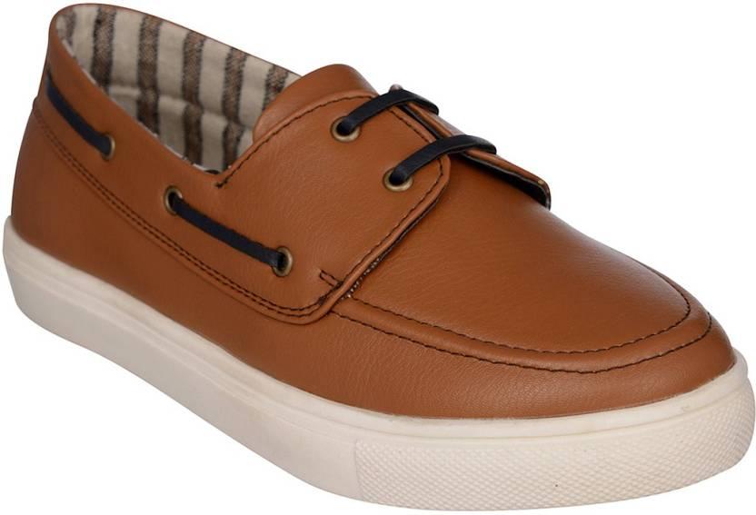 040b3d083 Bruno Manetti BM-2995 Boat Shoes For Women - Buy Tan Color Bruno ...