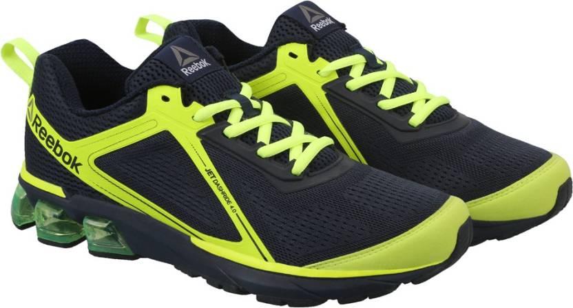 d375e37c5d9ede REEBOK JET DASHRIDE 4.0 Running Shoes For Men - Buy NAVY YELLOW ...
