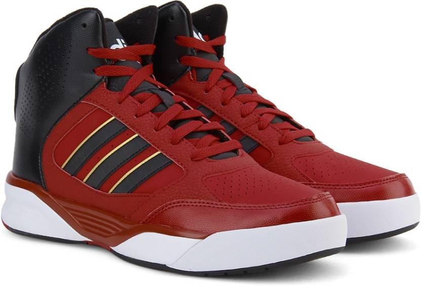 Adidas neo cloudfoam nightball metà scarpe per gli uomini comprano powred