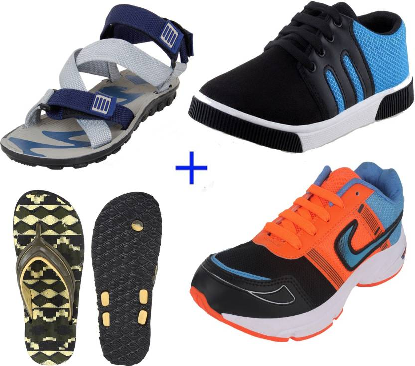 Minimum 40% Off On Men's Footwear By Flipkart | Earton Casuals (Multicolor) @ Rs.999