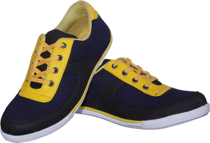 Mbs collection casual shoe canvas shoes for men buy navy color
