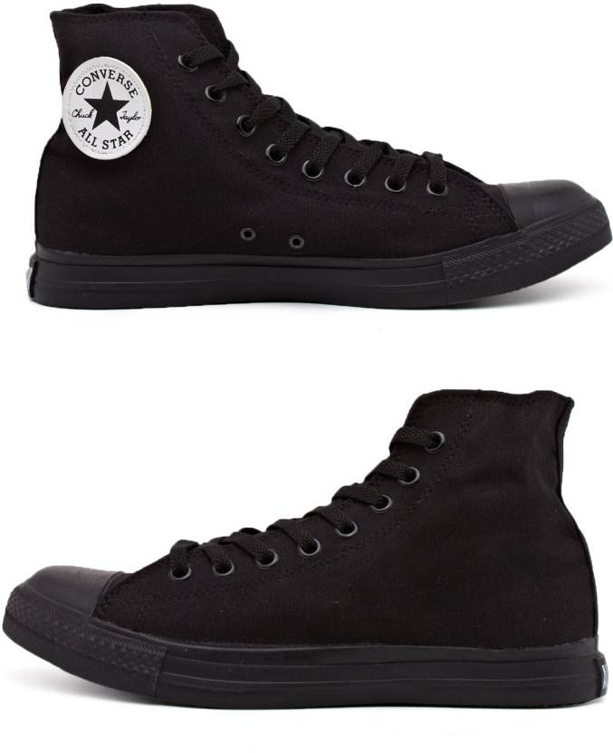 6c8a0a07fb0c Converse All Day High Tops Canvas Shoes For Men - Buy Black Color ...