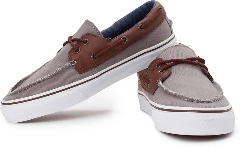 Vans Zapato Del Barco Boat Shoes For Men - Buy Cloudburst ecedcb90f7