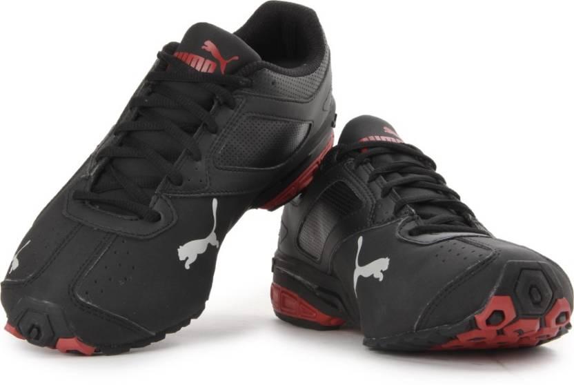 c2579cbd5f263e Puma Tazon 6 DP Running Shoes For Men - Buy black-high risk red-puma ...