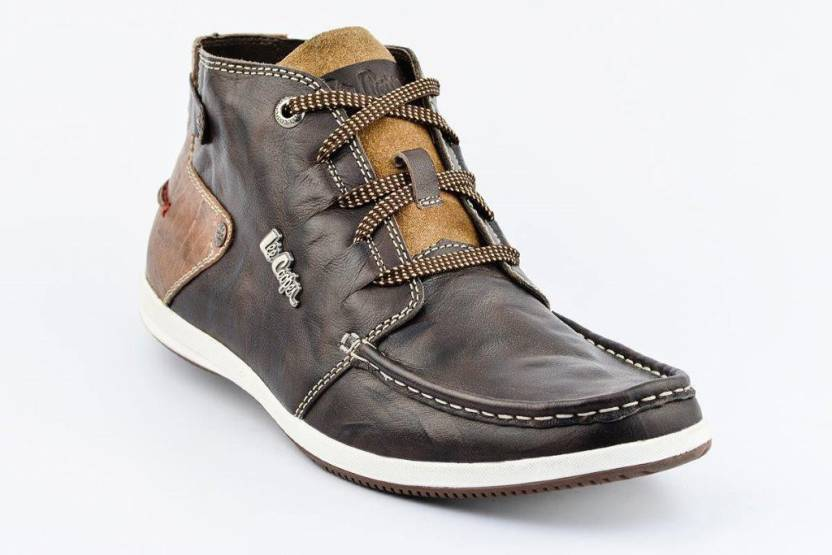 d654d38a7e20 Lee Cooper Men Mid Ankle Sneakers For Men - Buy Brown Color Lee ...