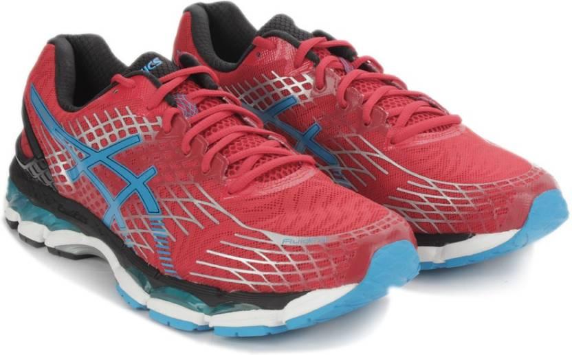 e31decd1fbfb Asics GEL-NIMBUS 17 Running Shoes For Men - Buy FIERY RED TURQUOISE ...