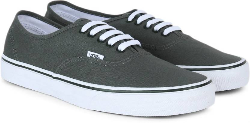 0b00ba9d0fb Vans Authentic Sneakers For Men - Buy pewter black Color Vans ...