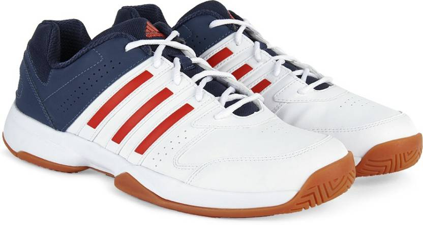 buy cheap 4ec56 4dc46 ADIDAS ACOSTA IN Men Volleyball Shoes For Men (Blue, Red, White)