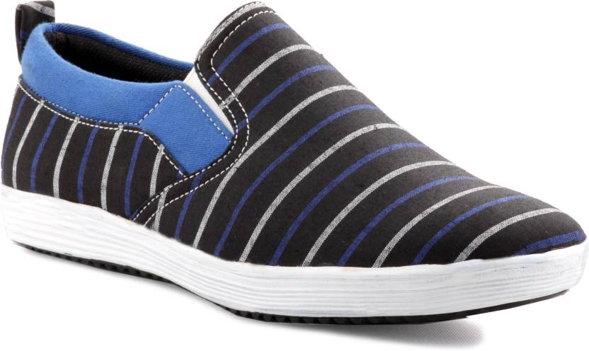 Zebra Men's Freelance Shoes Canvas Shoes