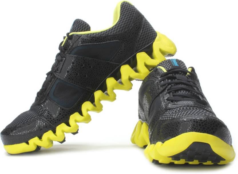 202192edd408 REEBOK Zigtech Shark Pursuit360 Running Shoes For Men - Buy Black ...