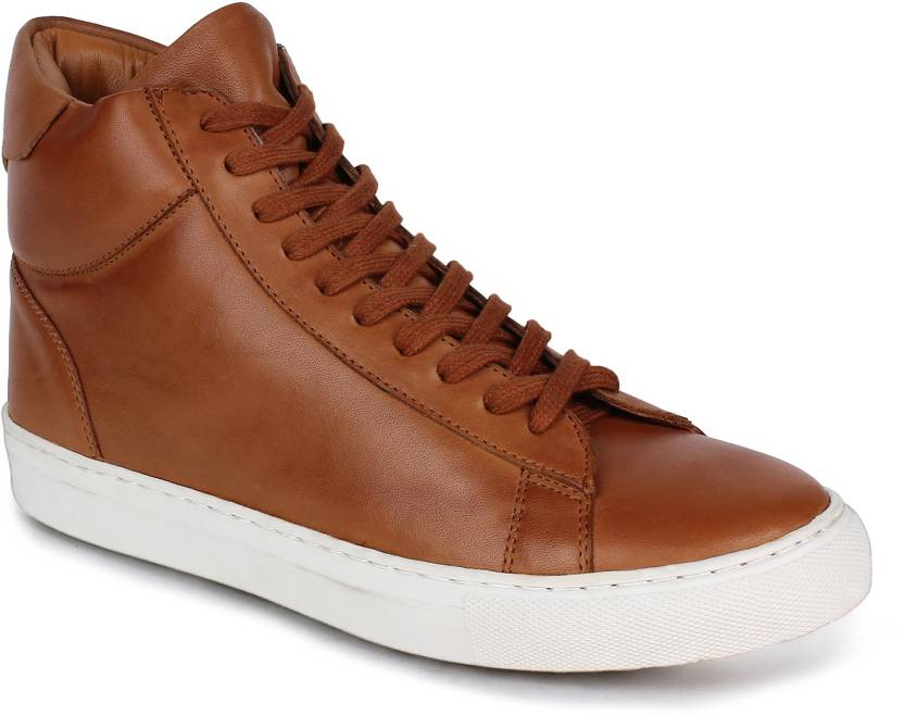 ae51fde2d1d Whitesoul LEATHER TAN DERBY BOOT Sneakers For Men - Buy TAN Color ...