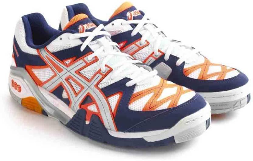 le dernier dcc78 67d75 Asics Gel-Progressive Men Badminton Shoes For Men
