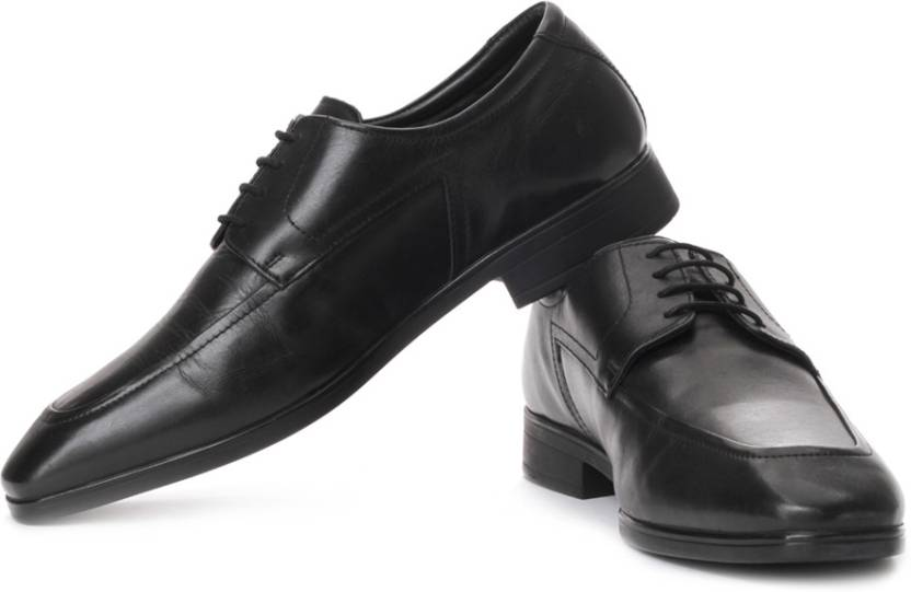 Hush Puppies Genuine Leather Lace Up Shoes